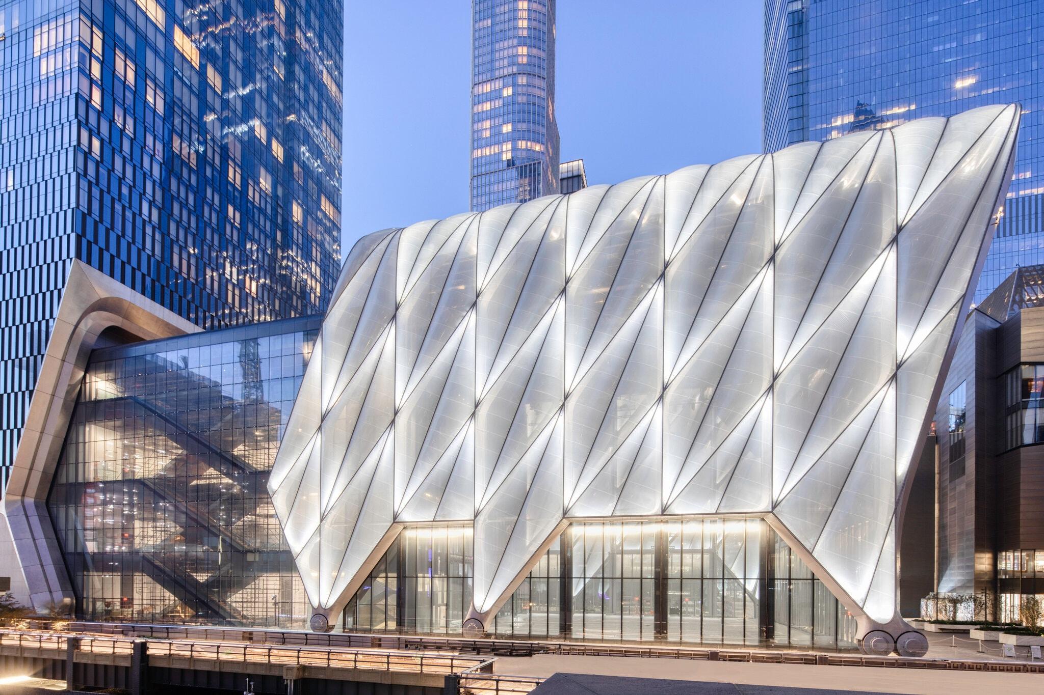 Shed in Manhattan- centro de exposição