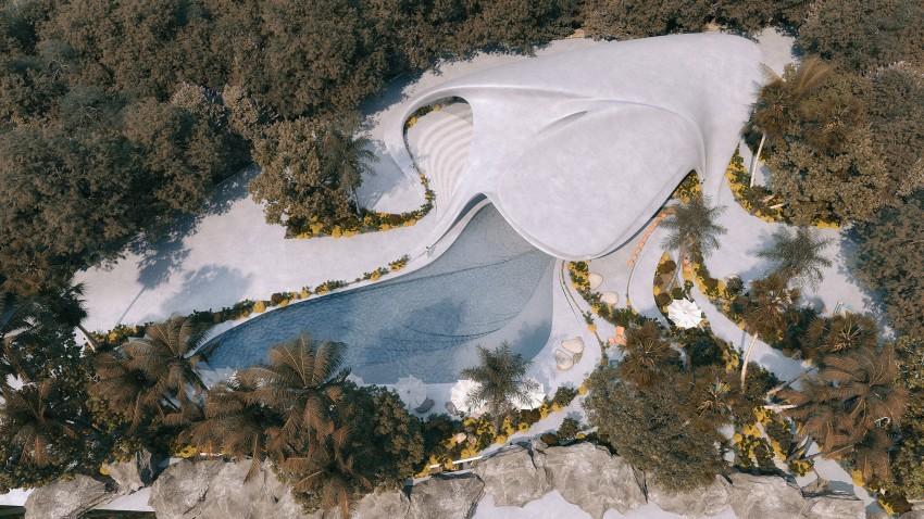 """MASK Arquitetos projetaram a residência de luxo """"Villa G01"""" com vista panorâmica do mar, em uma das áreas mais exclusivas do norte da Sardenha, Itália."""
