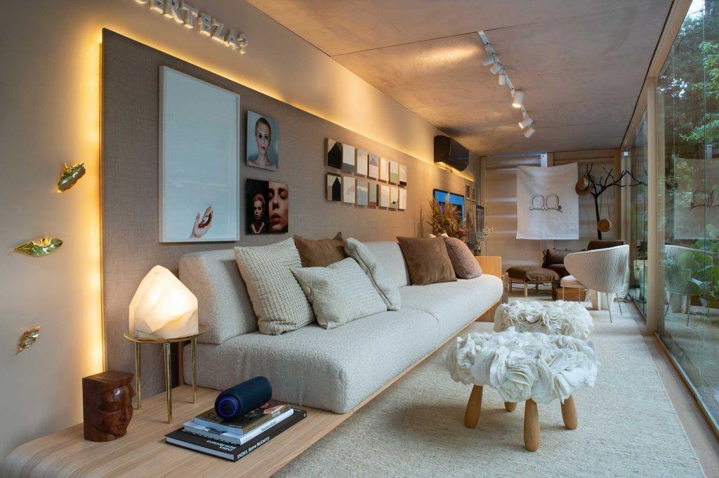 casa compacta casa conectada lg suite arquitetos projeto arquitetura decoração interiores janelas casacor 2020 profissionais elenco
