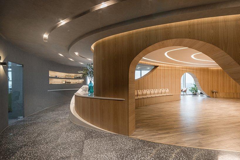 Salão Oval projetado pelo BEHIVE Arquitetos.