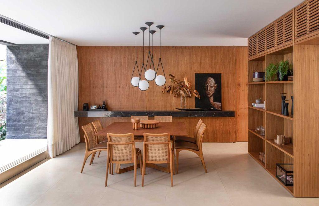 casa das jabuticabeiras mf+arquitetos elenco casacor foto felipe araujo casa interiores madeira decoração
