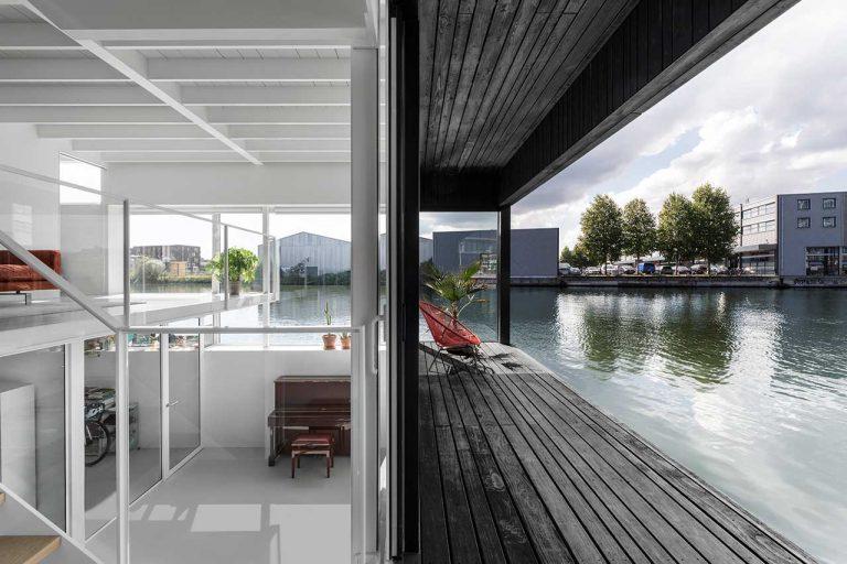 casa flutuante amsterda i29 arquitetos sustentabildiade comunidade sustentável arquitetura construção inovação tecnologia