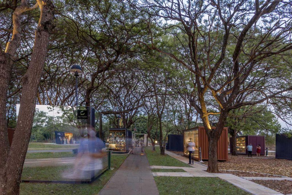 sainz arquitetura janelas casacor brasilia edgard cesar exposição casacor 2020 container parque brasília