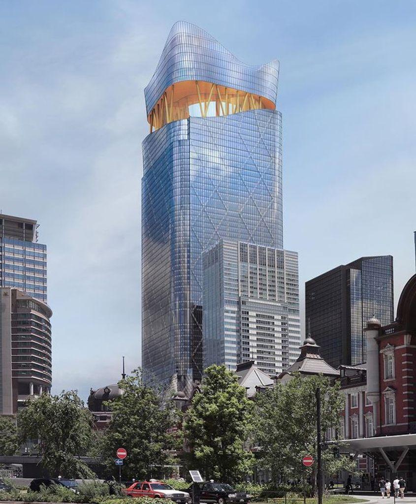 sou fujimoto tokio torch prédio mais alto japão arranha céu arquitetura 2021