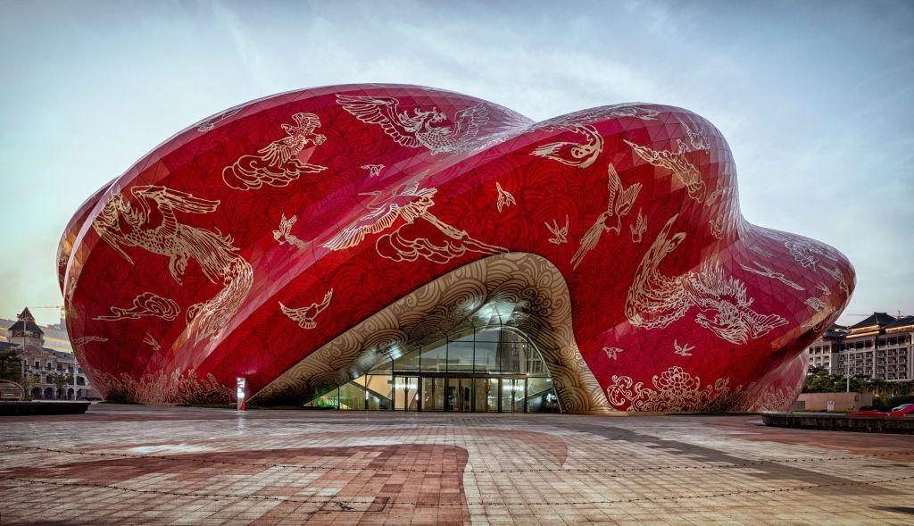 prédios mais aguardados de 2021 china teatro