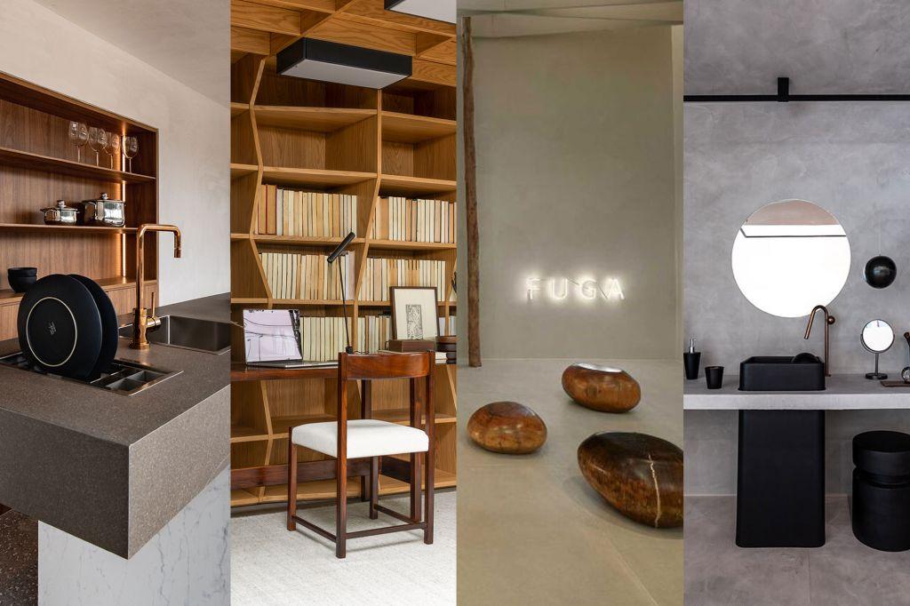 tendencias decoração interiores 2021 pinterest biblioteca neon cozinha banheiro minimalismo escritório home office janelas casacor casacor 2020 design minimalista