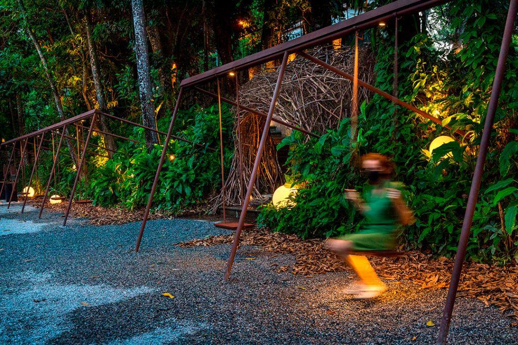 casacor rio de janeiro 2021 rj ambientes decoração arquitetura mostras bel lobo mariana travassos balanço águas jardim