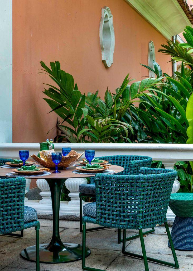 casacor rio de janeiro 2021 rj ambientes decoração arquitetura mostras chico gouvea sala almoço varanda