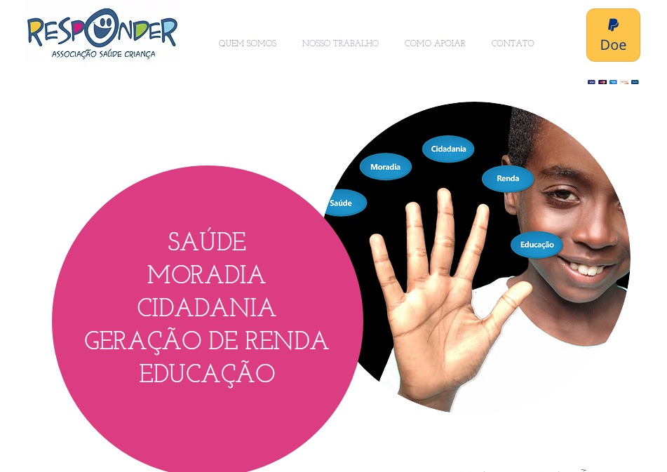 Associação Saúde Criança Responder é uma Organização Social