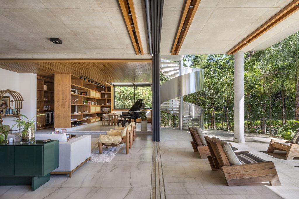 Casa da Mata; Leo Romano; Casa; Inspiração; natureza; decoração; arquitetura; goiana