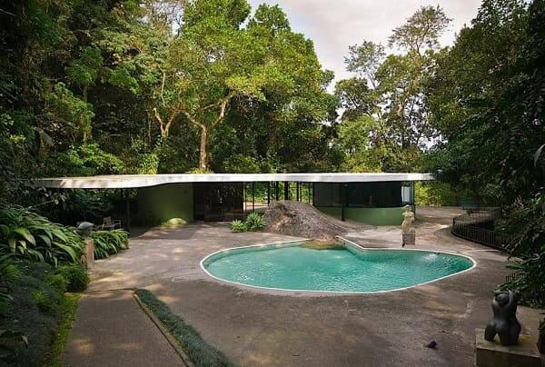 Casa-das-Canoas Oscar niemeyer