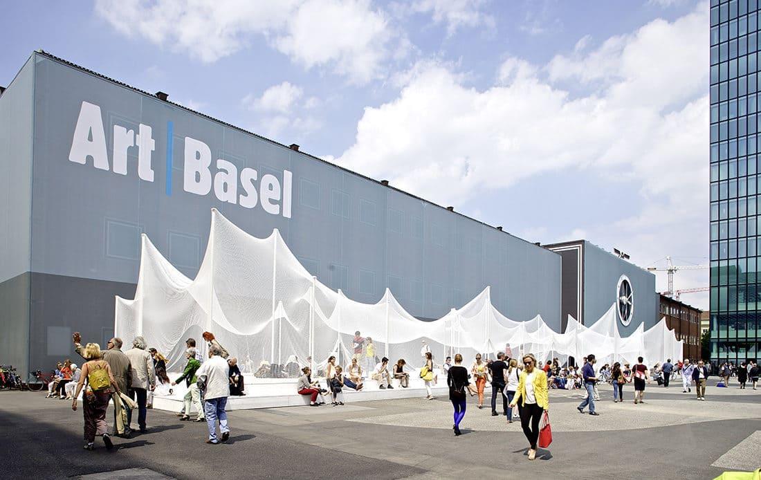 Fachada da Art Basel 2019