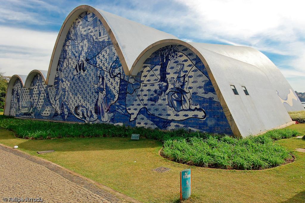 Igreja Pampulha Oscar Niemeyer foto Felipe Arruda