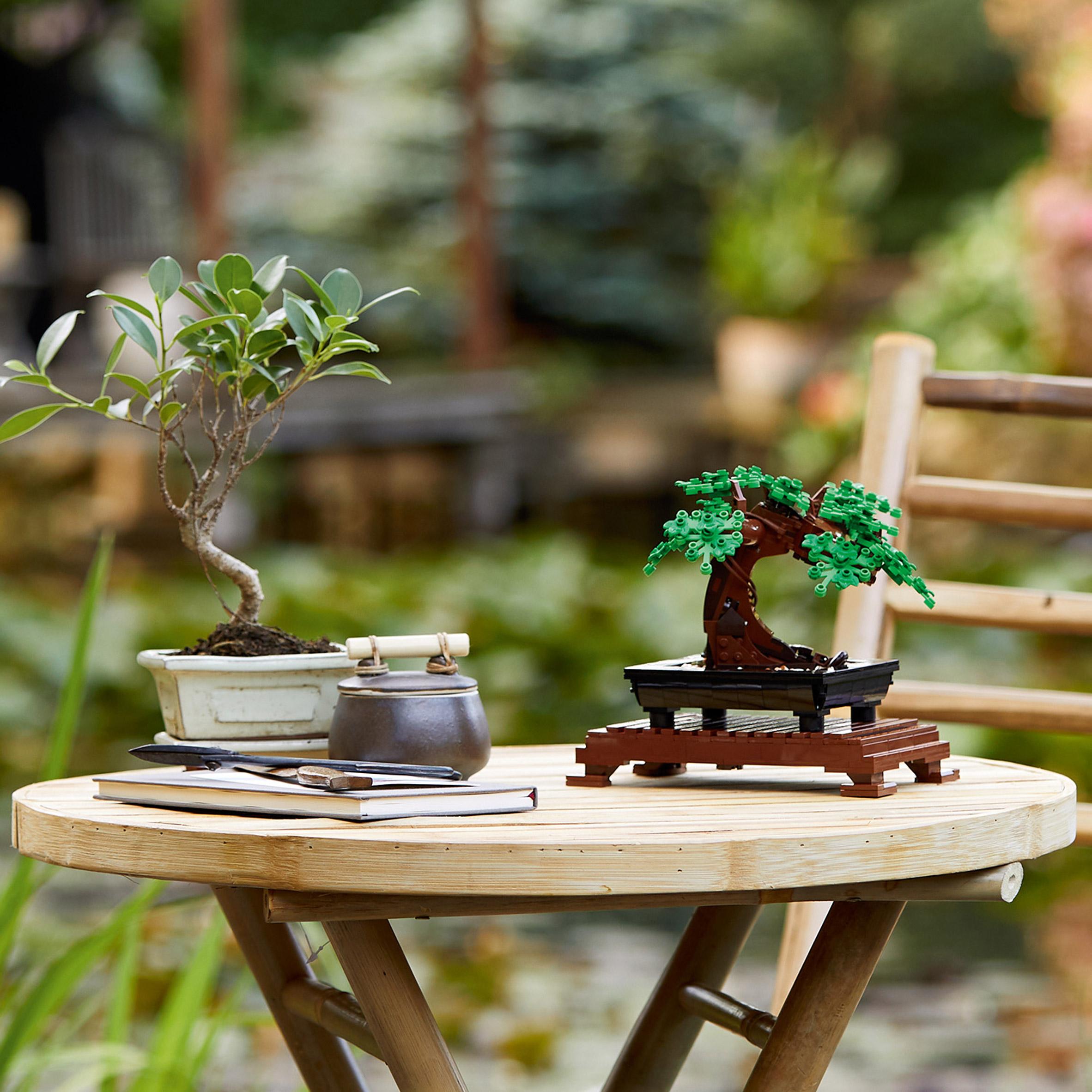 Coleção Botânica do Lego; destinado aos adultos; feitos de bioplásticos