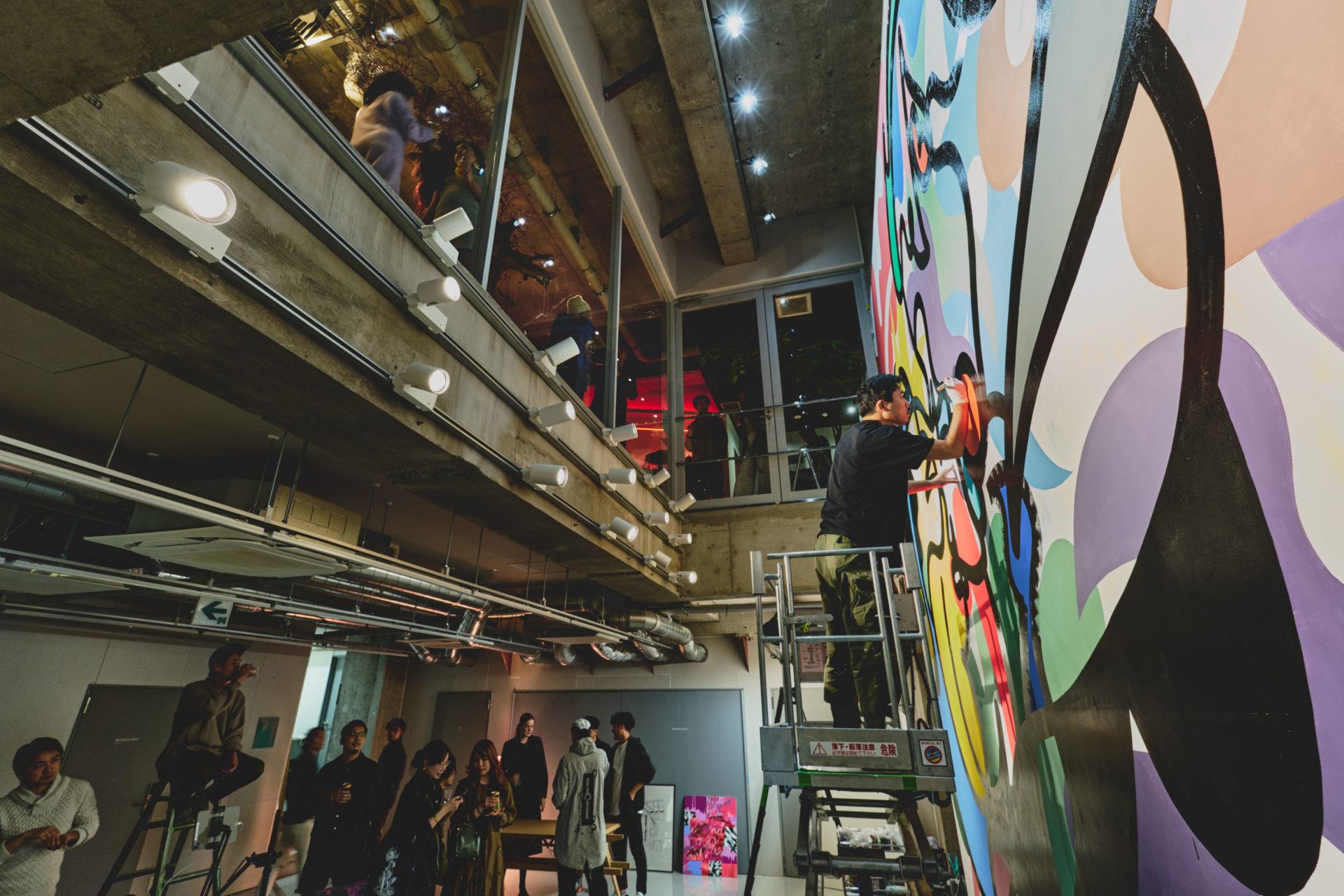 Hotel ou galeria de arte - Hall do hotel Bnb Wall. localizado em Tóquio, Japão