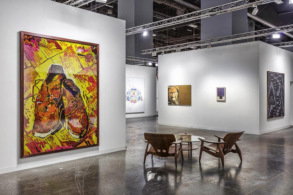 Nara Roesler- Art Basel Miami Beach, 2019