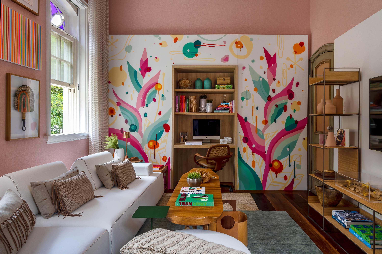casacor rio de janeiro 2021 rj ambientes decoração arquitetura mostras tatiana lopes pessoa mendes sala intima hospede