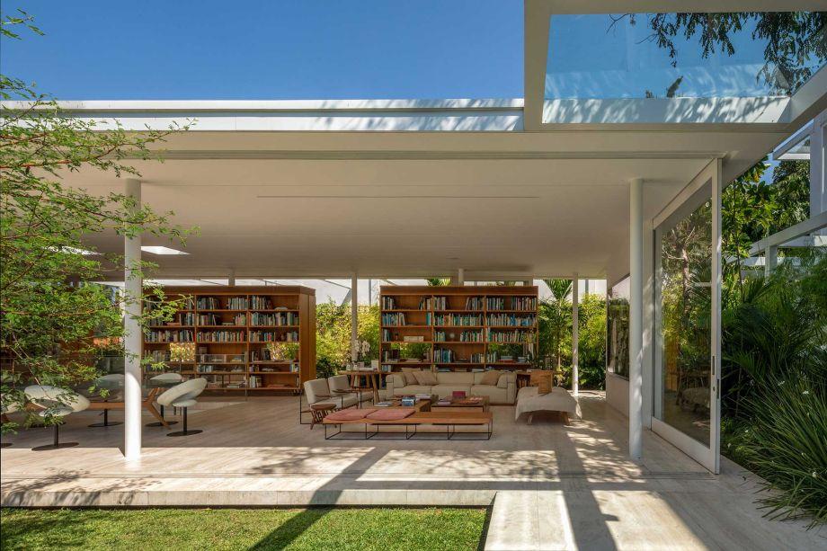 Casa dos Livros, por Azul Arquitetura (Lia Siqueira)