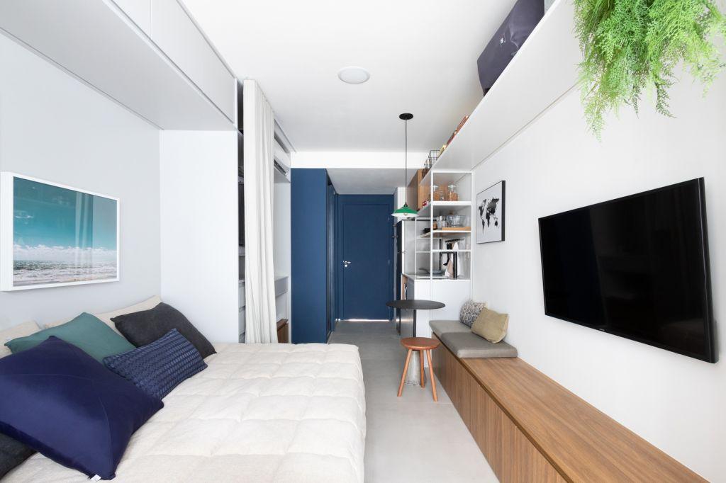 Apartamento pequeno; São Paulo; decoração