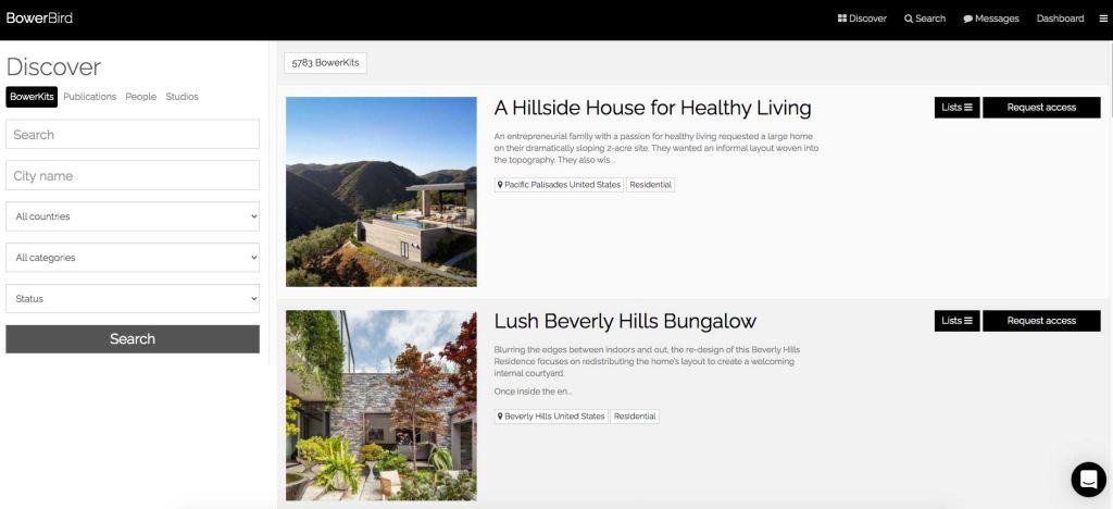 bowerbird arquitetura jornalistas projetos
