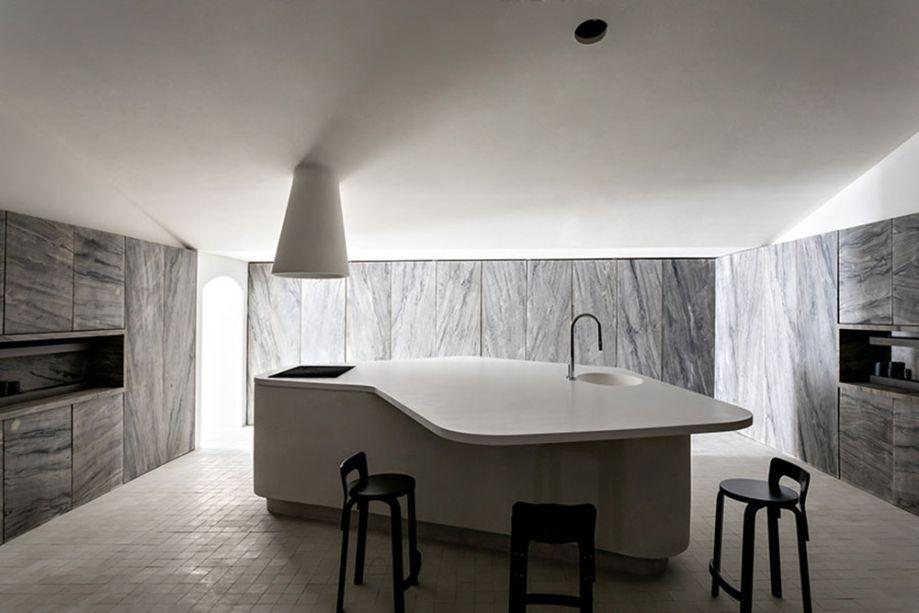 Felipe Hess Arquitetos - Cucina Pietra.