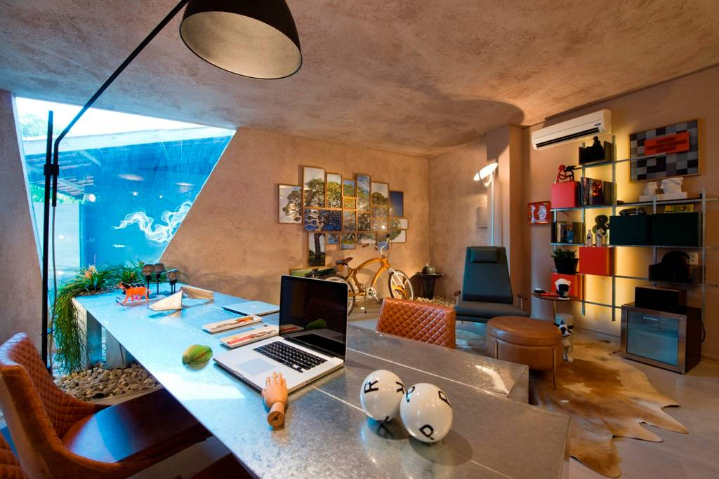 Home office XXI - Decoração industrial