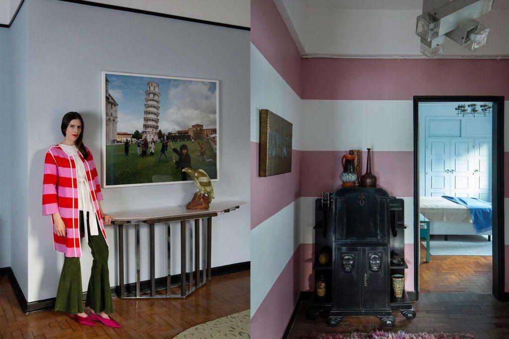 apartamento juliana vasconcelos elenco casacor profissionais decoração interiores vintage arquitetura obras de arte estante sofá são paulo