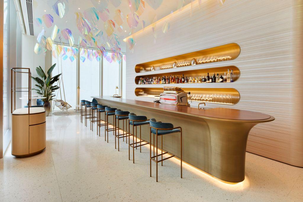 louis vuitton osaka japao restaurante arquitetura construção