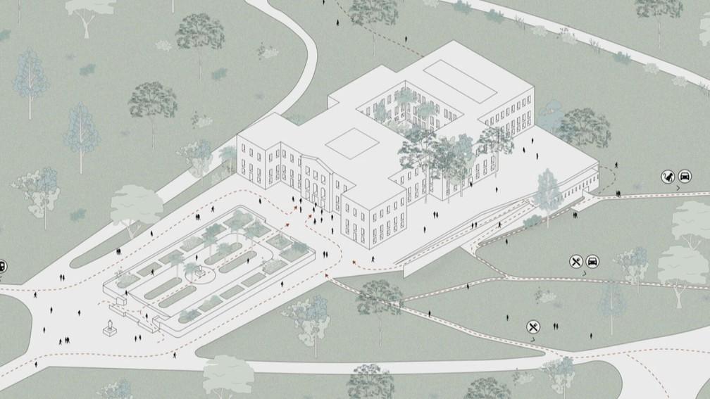 museu nacional do rio de janeiro restauração h+f arquitetos projeto arquitetura incêndio renovação museu