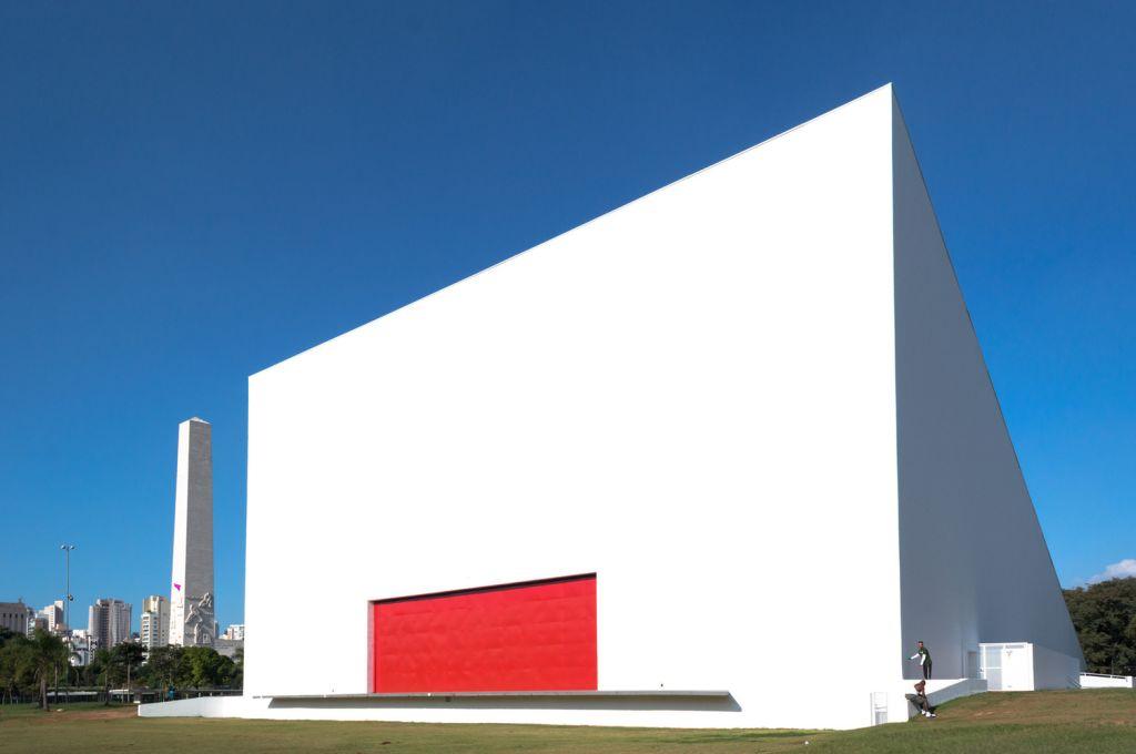 parque do Ibirapuera Oscar Niemeyer foto Manuel Sa
