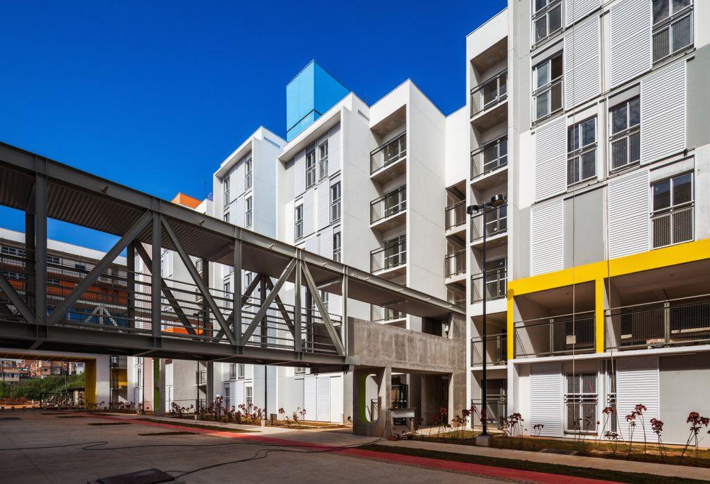 arquitetura prédio construção habitação são paulo heliópolis projeto