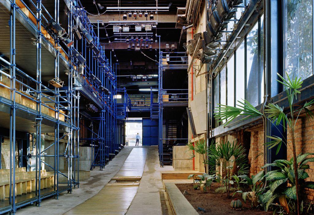 Teatro oficina estilo industrial obra de lina bo bardi