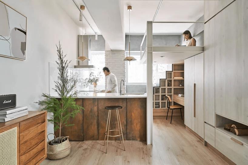 apartamento 24m2 taiwan