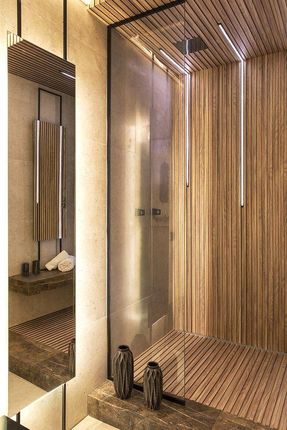 banheiro box madeira casacor