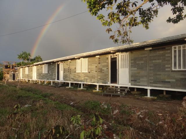 casas sustentaveis com tijolo plastico