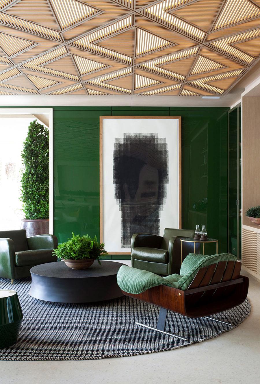 sofá verde veludo roberto migotto casacor sao paulo 2018 le riad bontempo decoração interiores