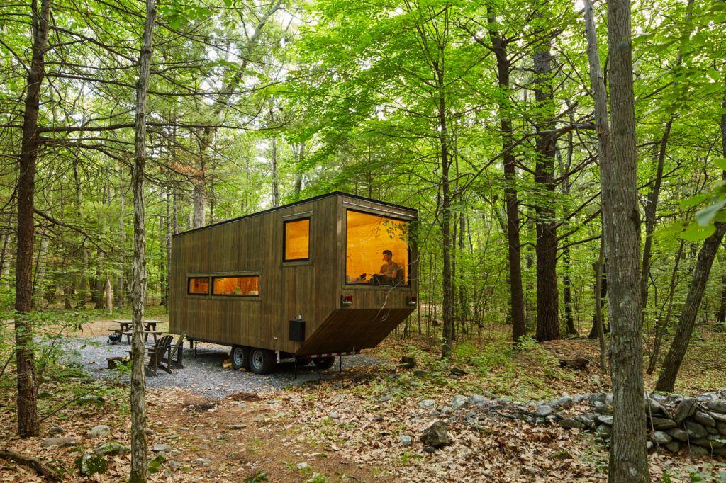 tiny house no meio da natureza