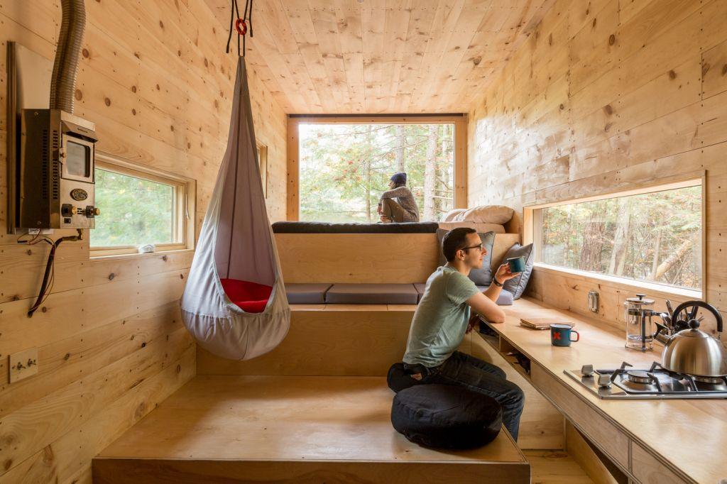 interior de uma tiny house