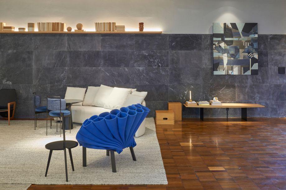Lounge PS - Studio Arch+. CASACOR Brasília 2019.