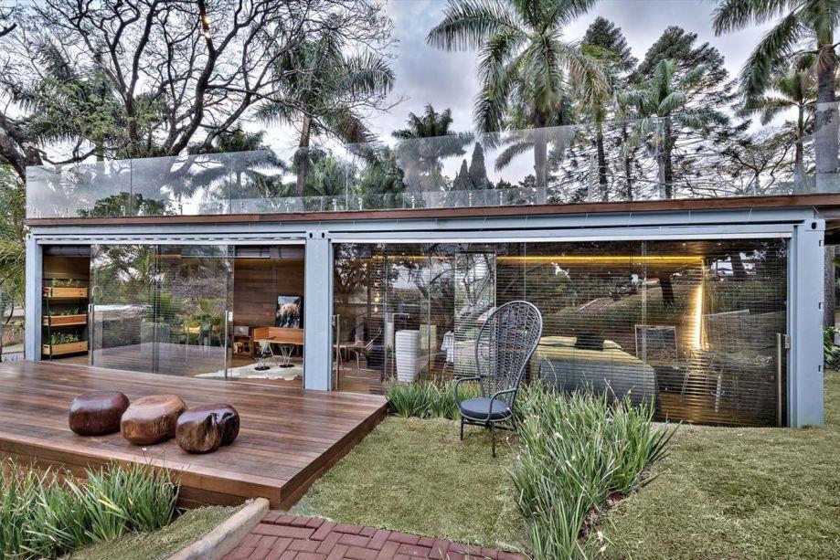 CASACOR Minas Gerais 2013 - Pocket House por Cristina Menezes Arquitetura