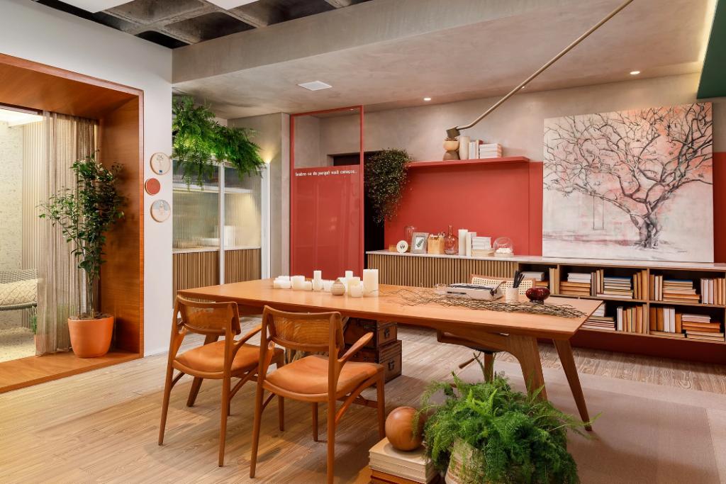 home office casacor 2019 escritório cores