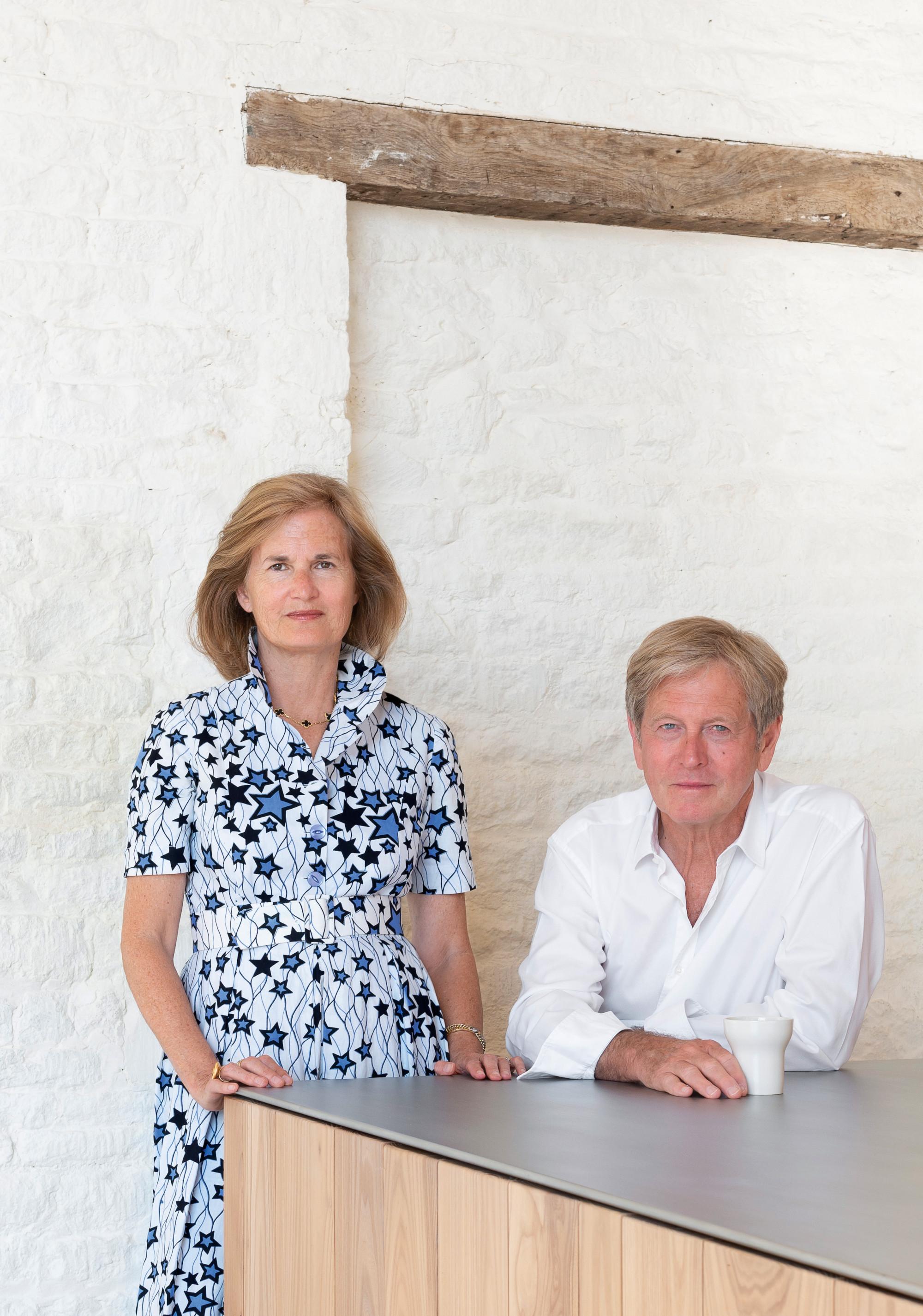 novo livro receitas; John Pawson e sua esposa