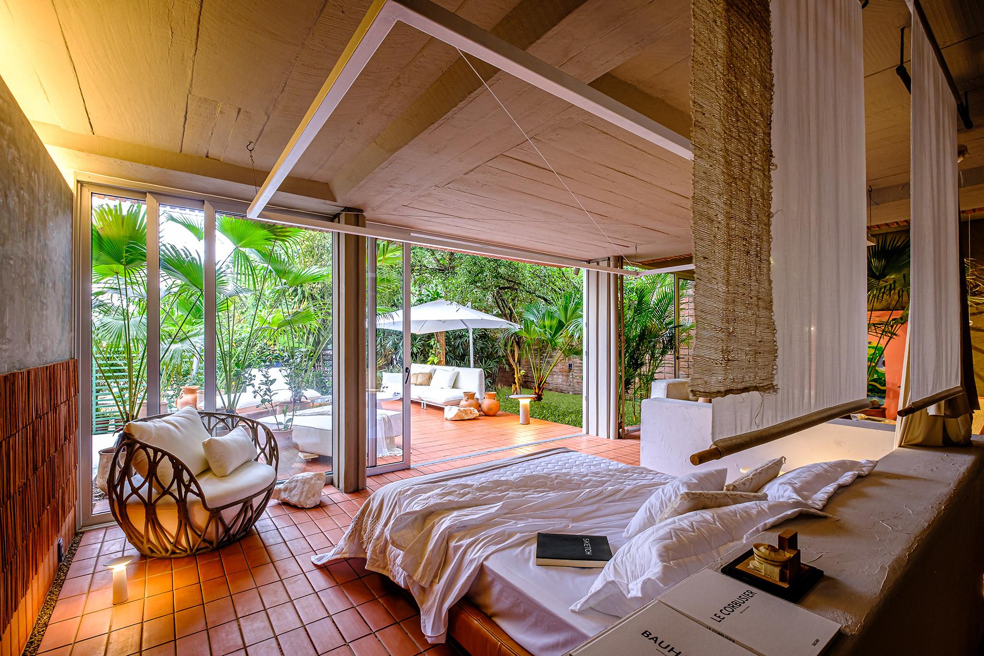 casacor bolivia decor decoração arquitetura 2021 mostras tierra roja casa de fin de semana roberto franco loft