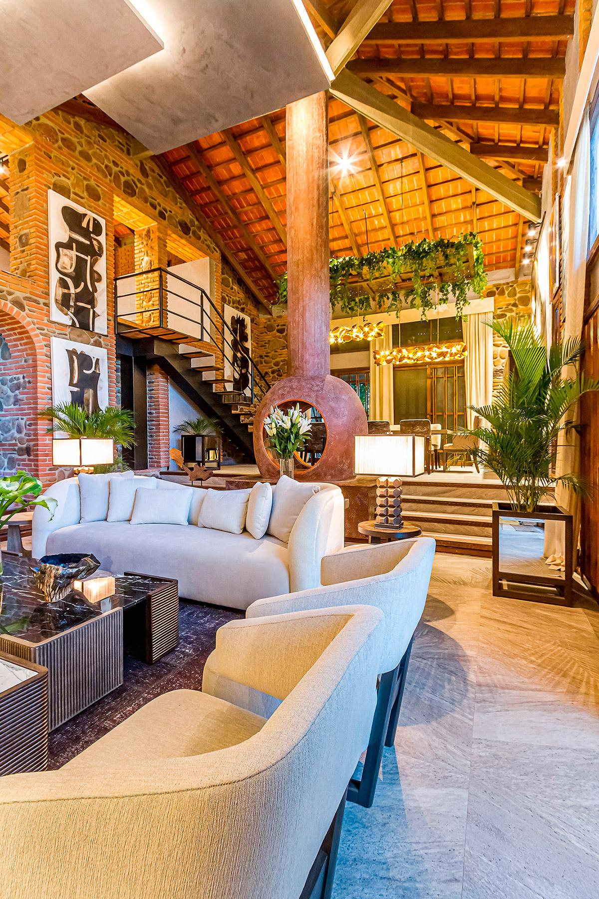 casacor bolivia decor decoração arquitetura 2021 mostras lliving comedor social clarissa cingolani maya mac lean