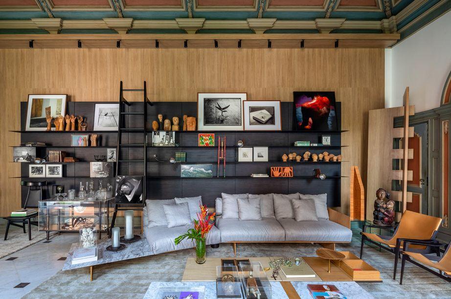 """Sala de Arte """"Contemplação"""", por Mario Costa Santos - CASACOR Rio de Janeiro 2021"""