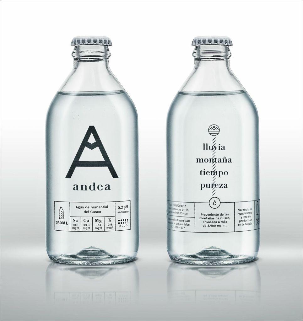 Andea- marca de água mineral peruana