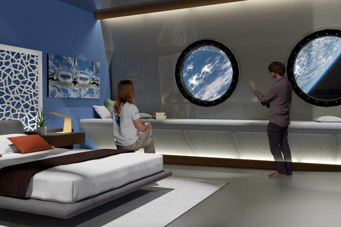 hotel espacial