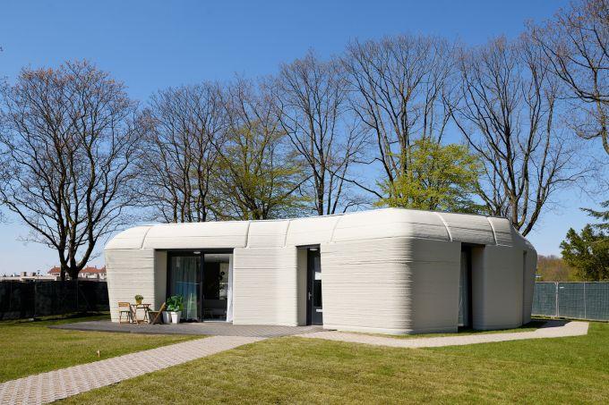 Eerste bewoonde 3D-betongeprinte woning Project Milestone