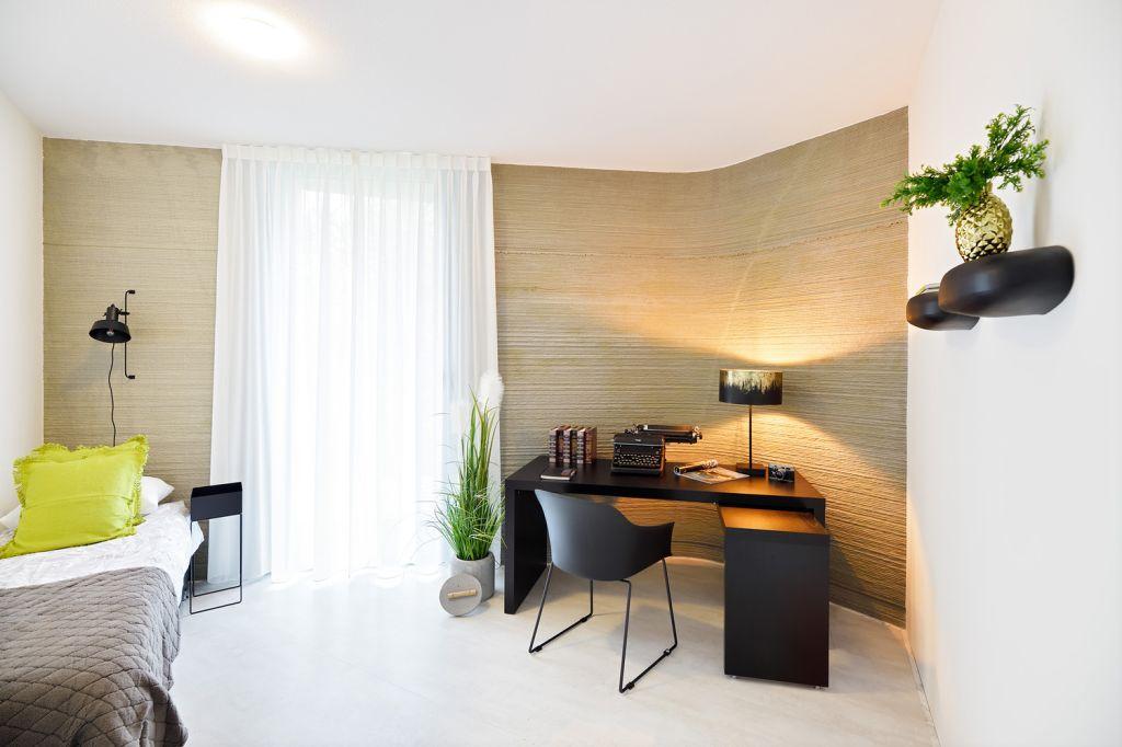 casa impressão 3D; Holanda; residencial; casa impressora de concreto