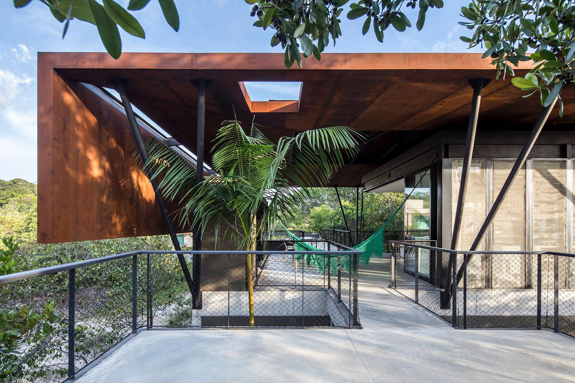 casa campinarana amazonia manaus arquitetura sustentável sustentabilidade amazonas jardim